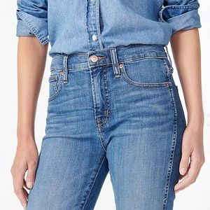J. Crew Vintage Slim Straight High Rise Jeans